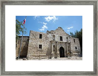 The Alamo Texas Framed Print
