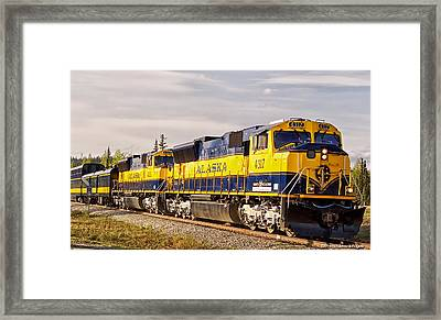 The Alaska Railroad Framed Print