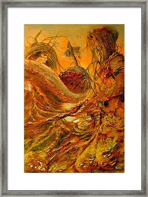 Framed Print featuring the painting The Alchemist by Henryk Gorecki