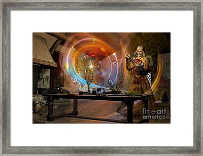 The Alchemist Framed Print by Shadowlea Is