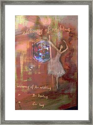 The Alchemy Of A Wishing Framed Print