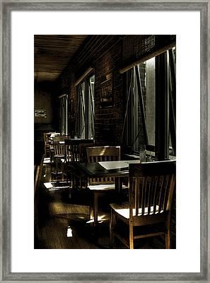 The Alibi Room II Framed Print