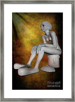 The Alien Framed Print
