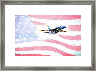 The All American  Framed Print by JC Findley