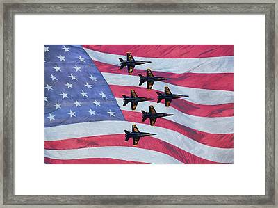 The All American Team Framed Print by JC Findley