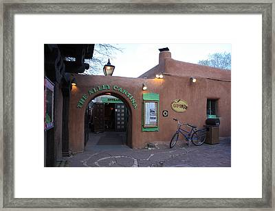 The Alley Cantina Framed Print