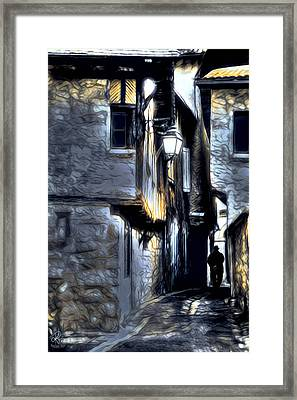 The Alleyway Framed Print