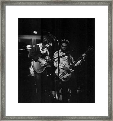 The Allman Brothers Dicky Betts Framed Print