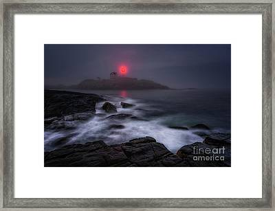 The Allure Of Nubble Framed Print by Scott Thorp