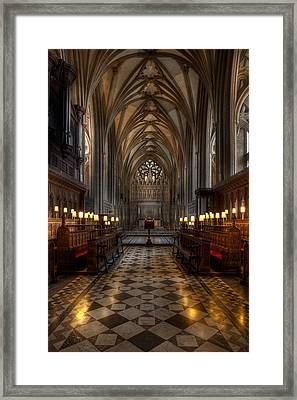 The Altar Framed Print by Adrian Evans