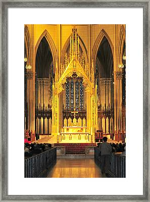 Framed Print featuring the photograph The Alter by Diana Angstadt