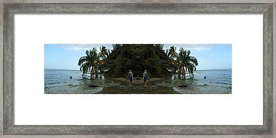 The Amazing Beach Framed Print