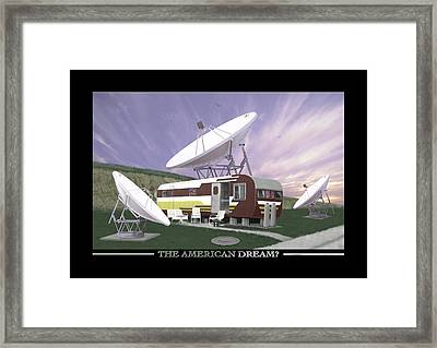 The American Dream Framed Print by Mike McGlothlen