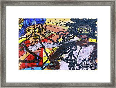 The American Experiment Framed Print