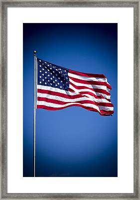 The American Flag 8 Star Spangled Banner Art Framed Print by Reid Callaway