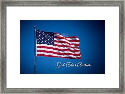 The American Flag Art 3 Framed Print