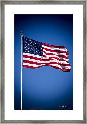 The American Flag Art 4 Framed Print