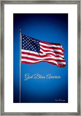 The American Flag Art 5 Framed Print