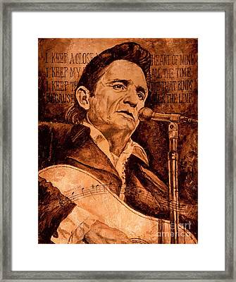 The American Legend Framed Print