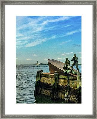 The American Merchant Mariners Memorial #1 Framed Print