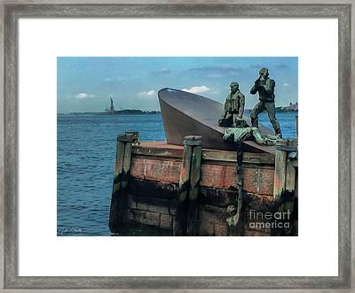 The American Merchant Mariners Memorial #2 Framed Print