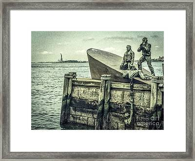 The American Merchant Mariners Memorial #3 Framed Print