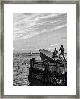 The American Merchant Mariners Memorial #4 Framed Print
