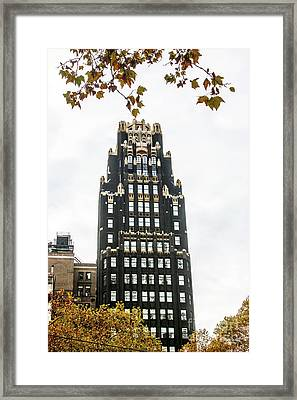 The American Radiator Building Framed Print