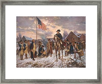 The American Revolution, George Framed Print by Everett