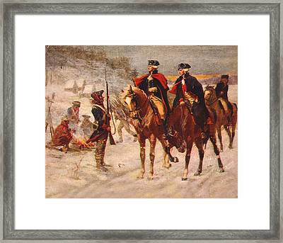 The American Revolution, Washington Framed Print by Everett