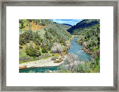 The American River Framed Print