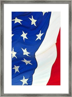The American Spc Work A Framed Print