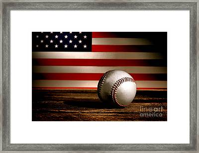 The American Sport Framed Print by Olivier Le Queinec
