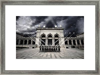The American Way Framed Print by Kyle McFadden
