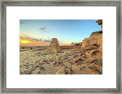 The American West Framed Print by JC Findley