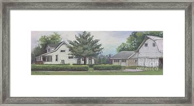 The Amerine Farm Framed Print by Terri  Meyer