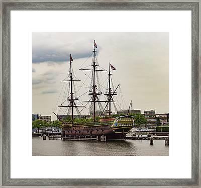 The Amsterdam Framed Print