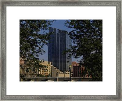 The Amway Grand Hotel At Dusk Framed Print by Richard Gregurich