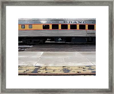 The Anasazi Framed Print by Joe Kozlowski