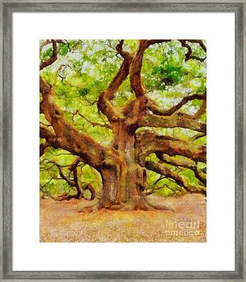The Ancient One By Sarah Kirk Framed Print