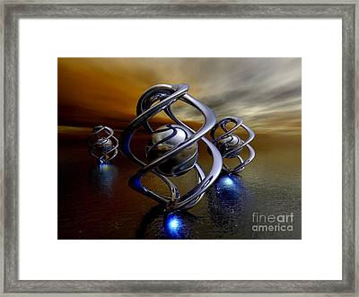 The Ancient Ones Framed Print by Alexander Butler
