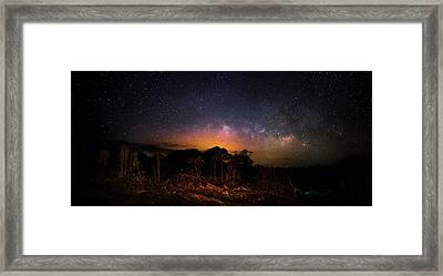 The Ancient Path Framed Print by Mark Andrew Thomas
