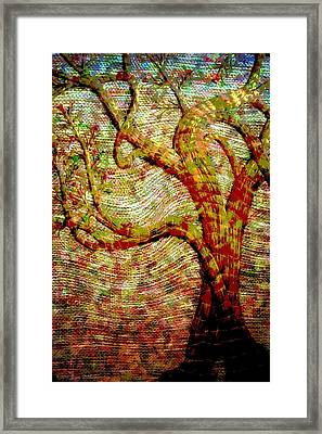 The Ancient Tree Of Wisdom Framed Print