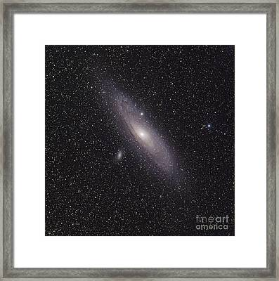 The Andromeda Galaxy Framed Print by Phillip Jones