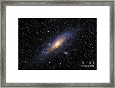 The Andromeda Galaxy Framed Print by Roth Ritter