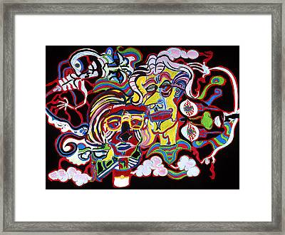 The Andy Warhol And Salvador Dali Museum Framed Print by William Watson