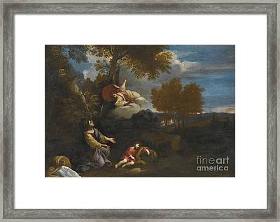 The Angel Appearing To Hagar Framed Print