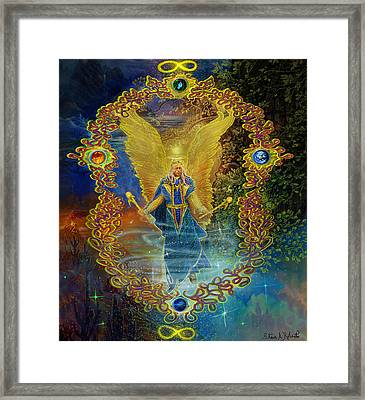 The Angel Michael Framed Print