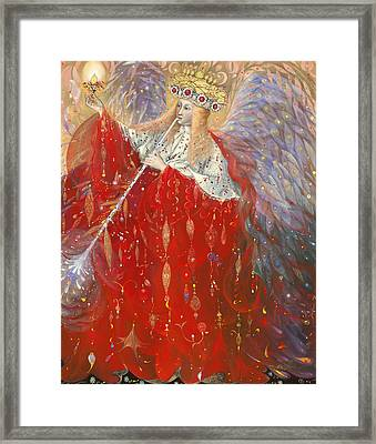 The Angel Of Life Framed Print by Annael Anelia Pavlova