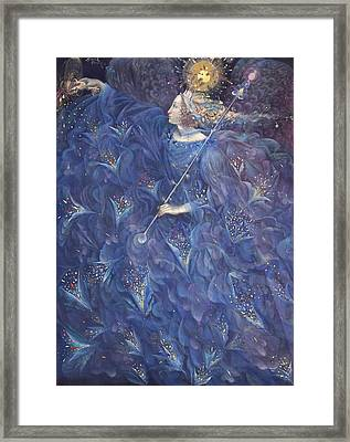 The Angel Of Power Framed Print by Annael Anelia Pavlova